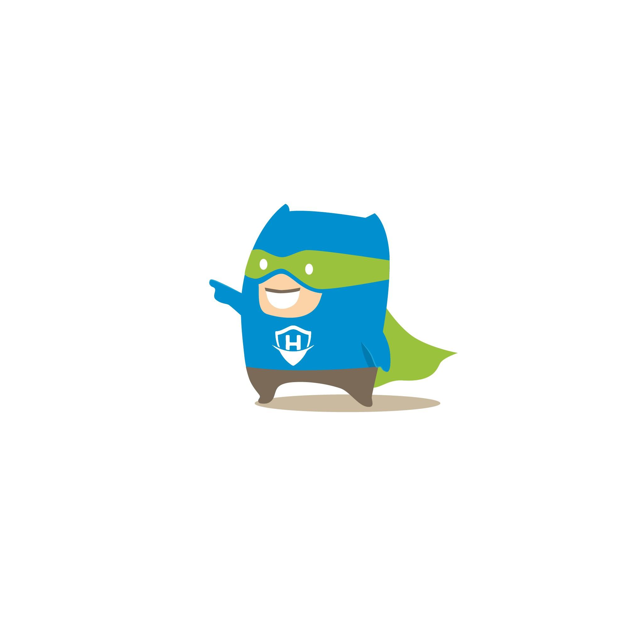 Super Hero Digital Illustration - HostingHero (Hosting Consultant)
