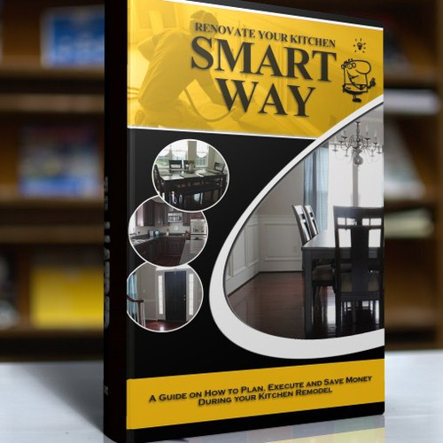 Design my Kitchen Remodeling eBook cover.  Opportunities for future work.