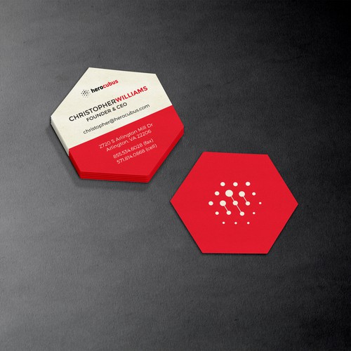 herocubus business card