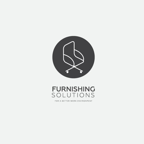 Furnishing Solutions Logo Concept