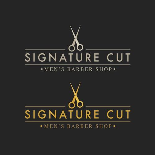 Signature Cut - Logo Design