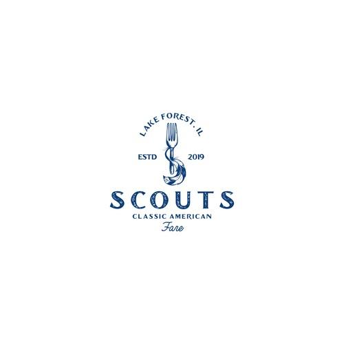 scout classic american fare logo