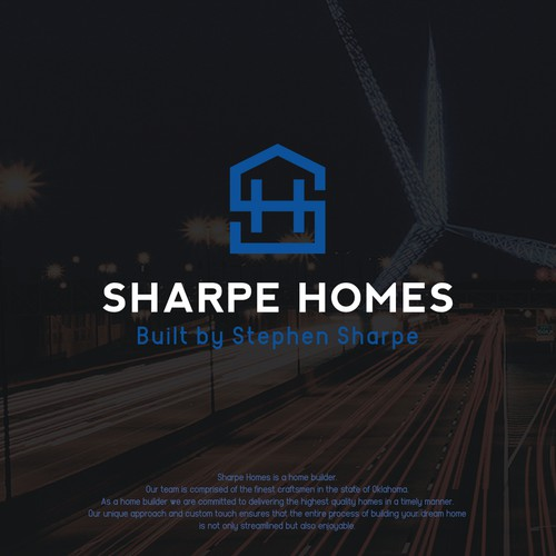 Logo concept for Sharpe Homes