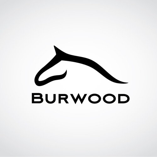 Create the next logo for Burwood Farm Horses
