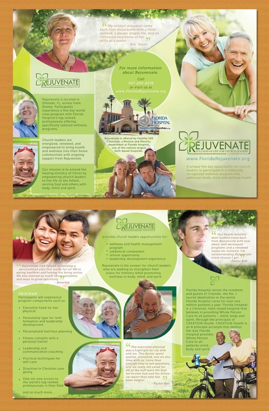 Rejuvenate, a national health and wellness program, needs a brochure!