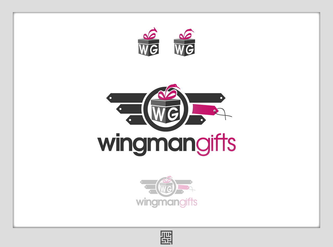 """Design a logo for """"Wingman Gifts"""""""