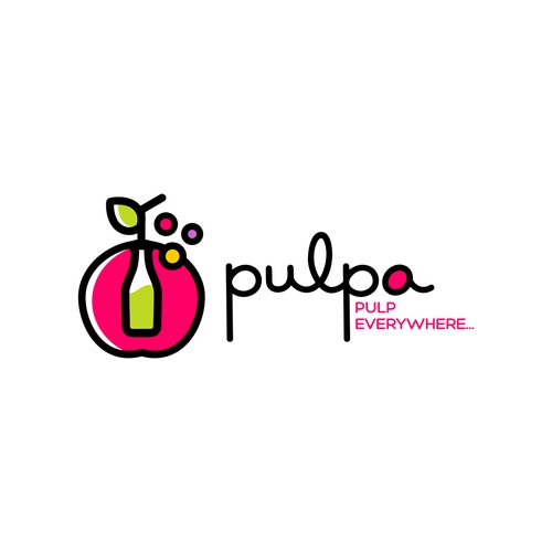 Winning Logo for Pulpa - Juice bar