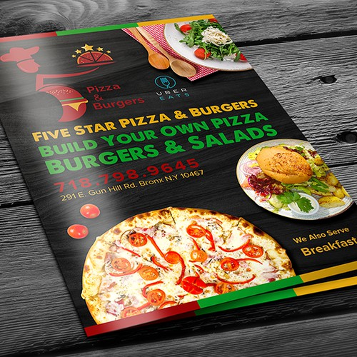 5 Star Pizza n Burgers