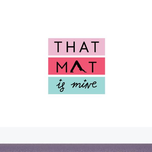 Logo for yoga mats