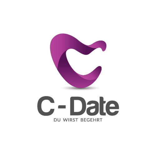 Logo concept for C-Date.