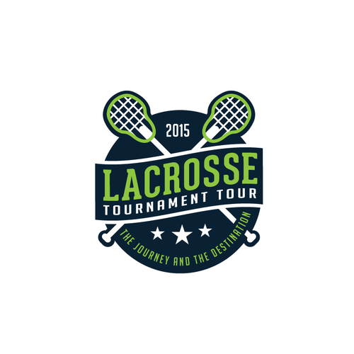 Logo for lacrosse tournament