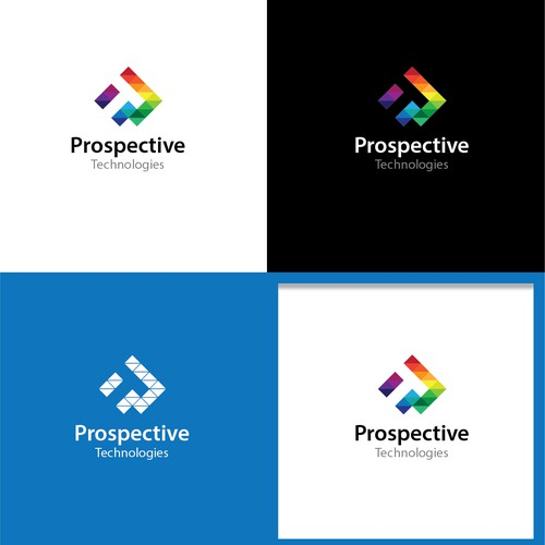 Clever Logo concept of Prospective Technologies