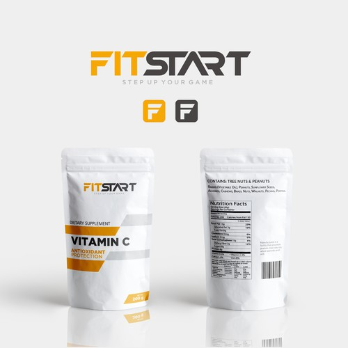 Looking for Creative Full branding and Logo for Fitness Supplement Brand