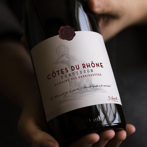 Etiquette de Vin - Caves Clément