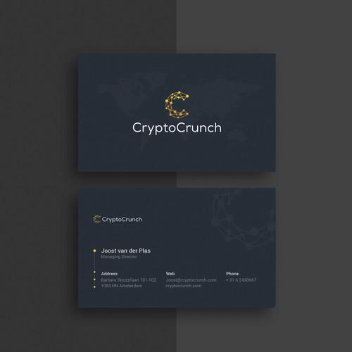Business Card Design Concept.