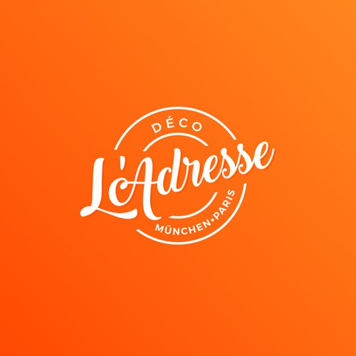 Logo for decoration store.