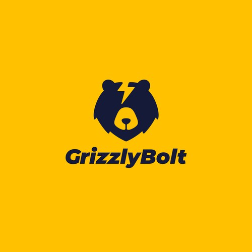Grizzly Bolt Logo Design