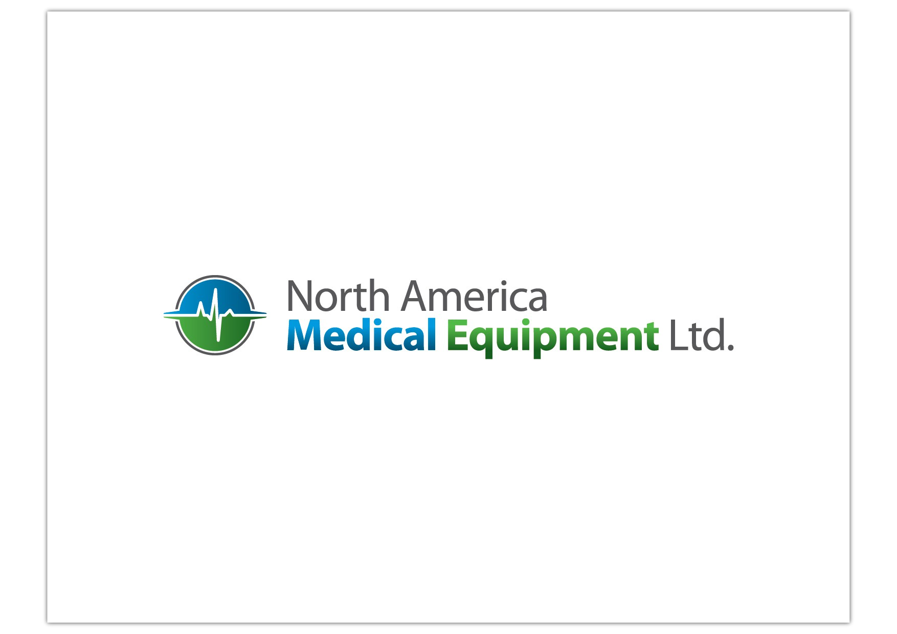 North America Medical Equipment Ltd. needs a new logo
