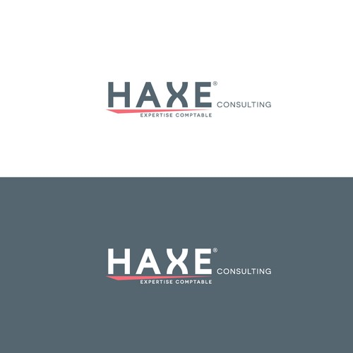 bold logo contept for consulting