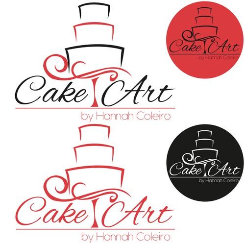 Logo for a unique cake artist