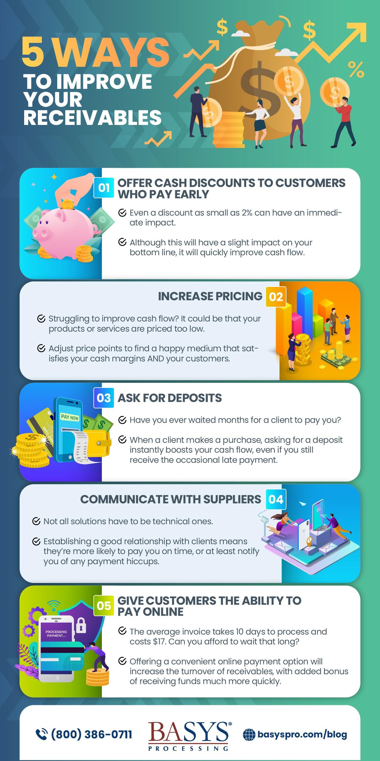 5 Ways to Improve Your Receivables