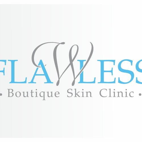 Flawless Boutique Skin clinic needs a new logo