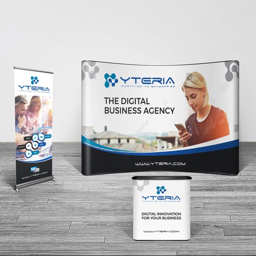 Booth design for IT services company