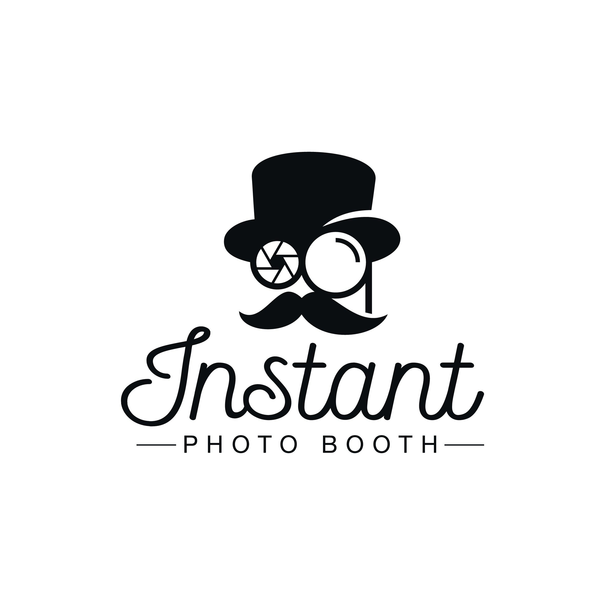 Redeisgn the Instant Photo Man logo for the Instant Photo Booth app