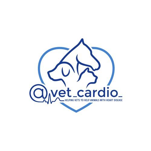 Logo for @vet_cardio_