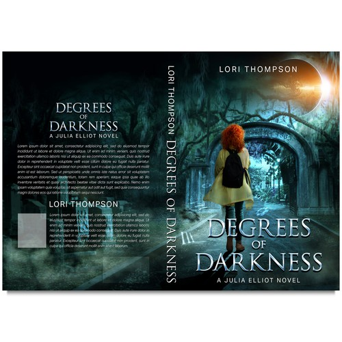 Book cover DEGREES OF DARKNESS