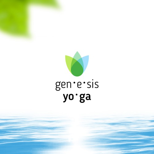Logo concept for yoga studio