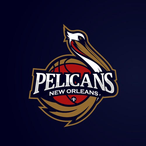 99Design community contest for New Orleans Pelicans
