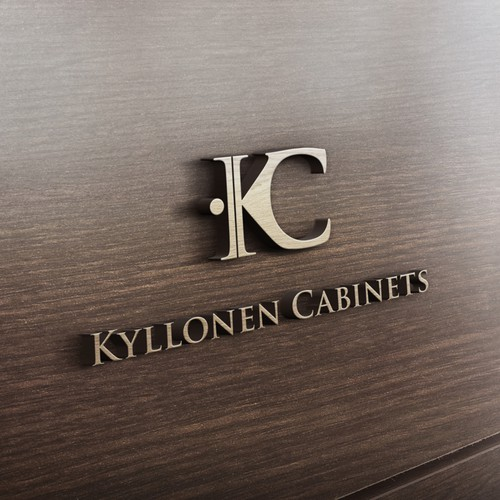 Initial logo concept for Kyllonen Cabinets