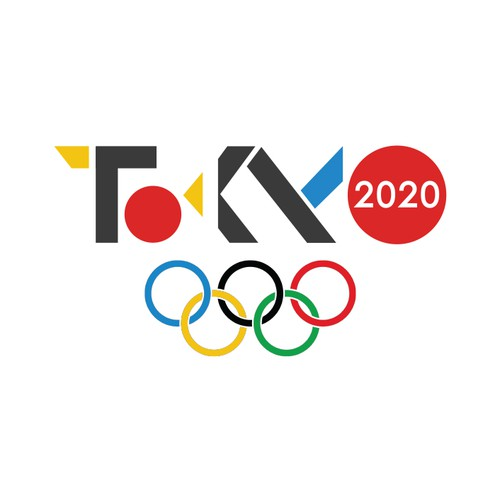 Design a logo for the 2020 Olympic Games