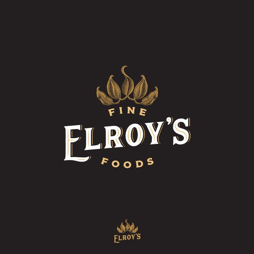 Logo for grocery market.