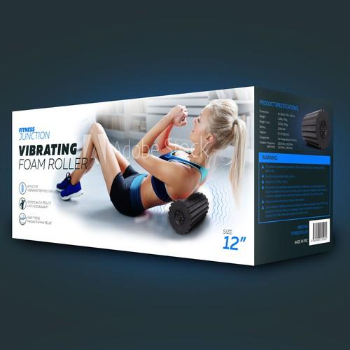 Package Vibrating Foam Roller