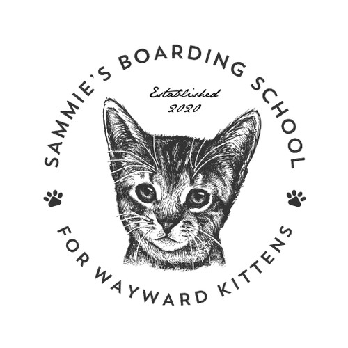 Logo concept for Sammie's Boarding School