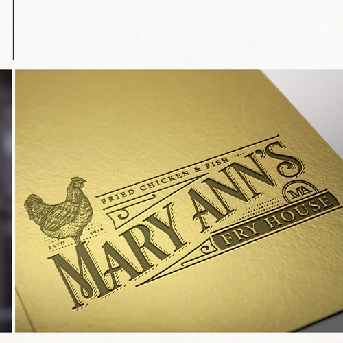 Logo Design for Mary Ann's Fry House