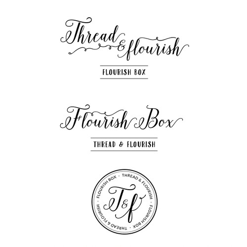 Logo for Fair Trade scarf subscription company