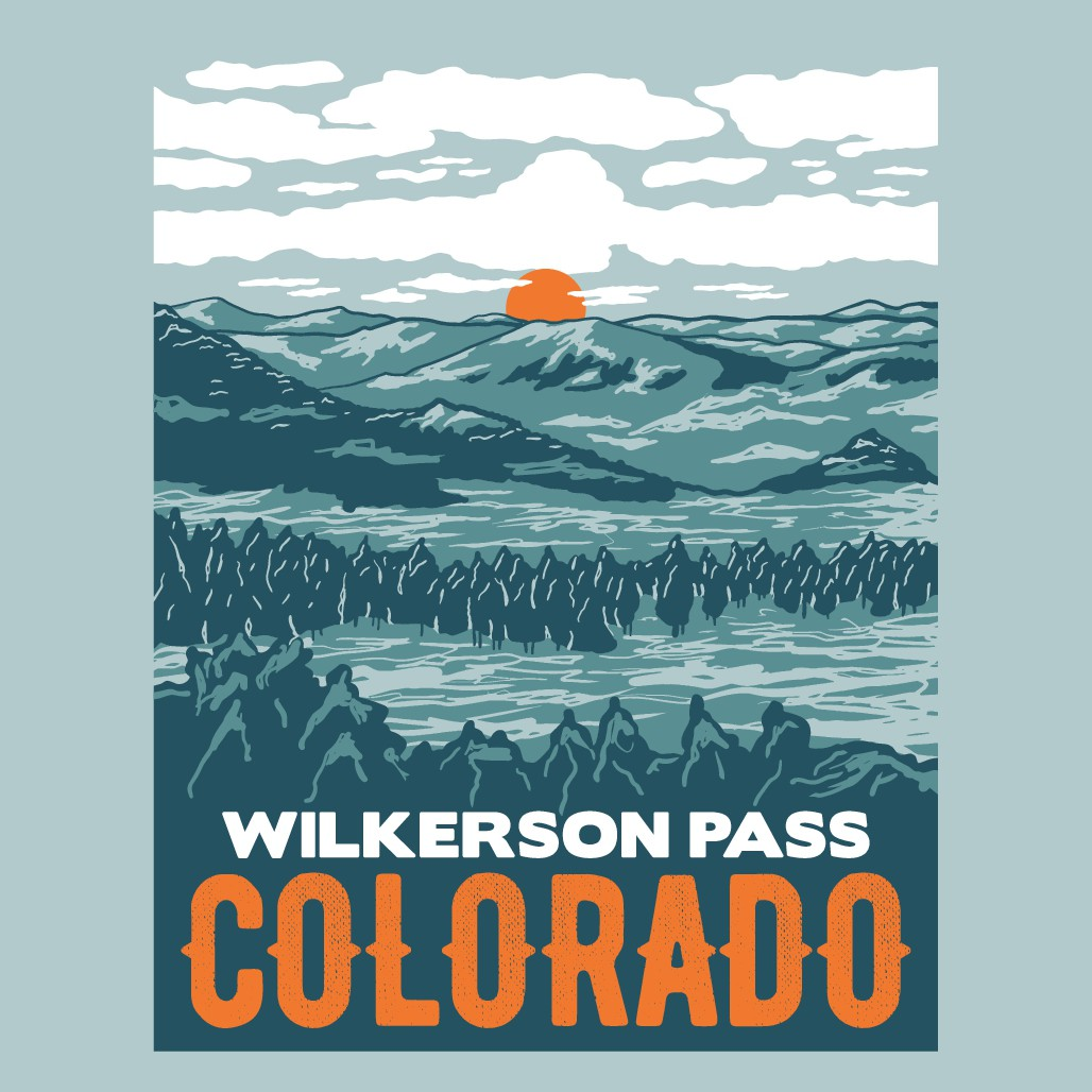 Design Adult Shirt for Wilkerson Pass Colorado!
