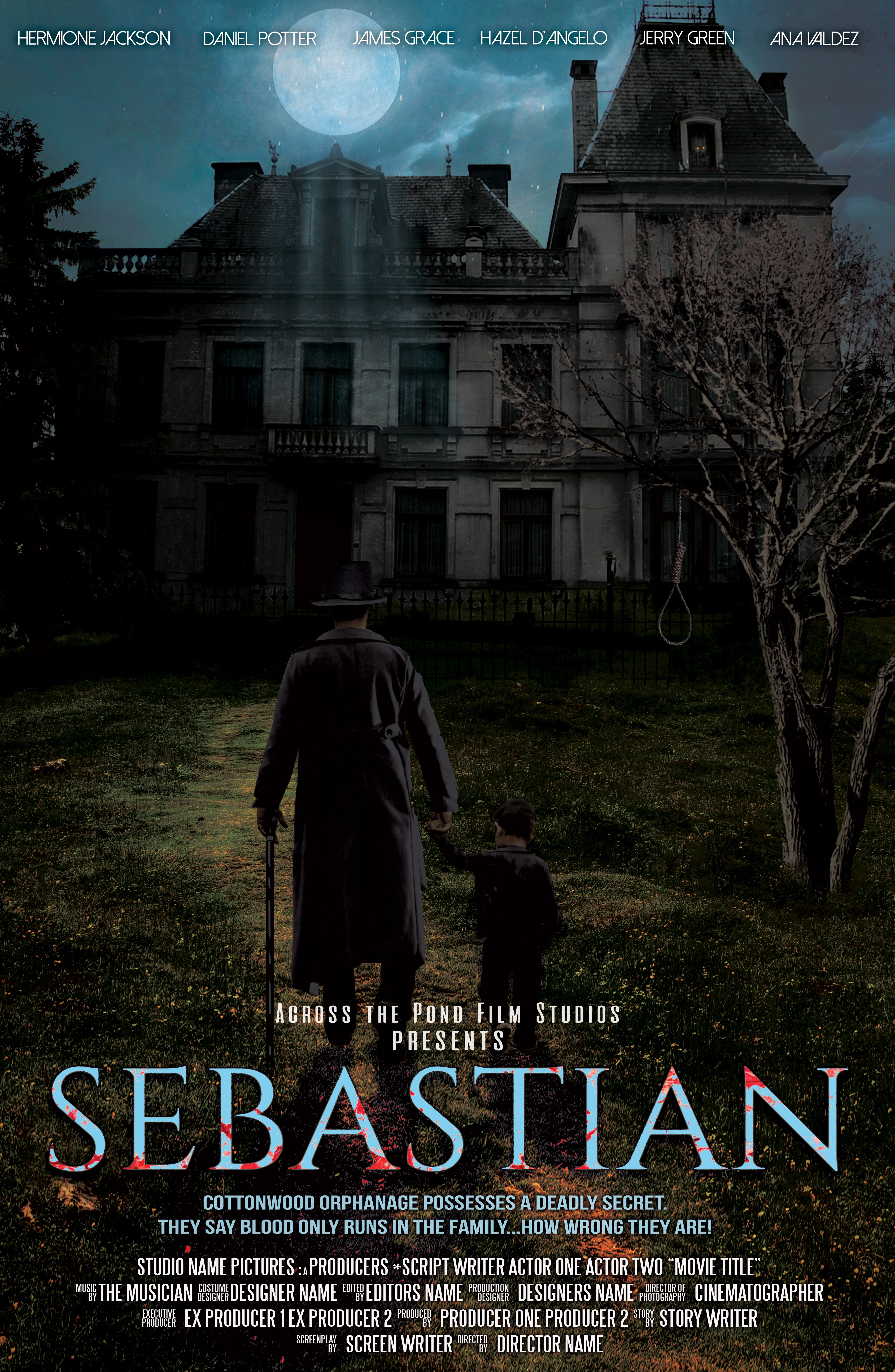 Sebastian is a possessed boy doll, terrorizing a Victorian orphanage in the 1940s