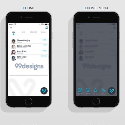 vDeets App Design