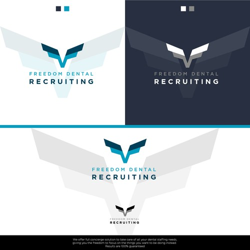 Logo Design Presentation for a Dental Recruiting Company
