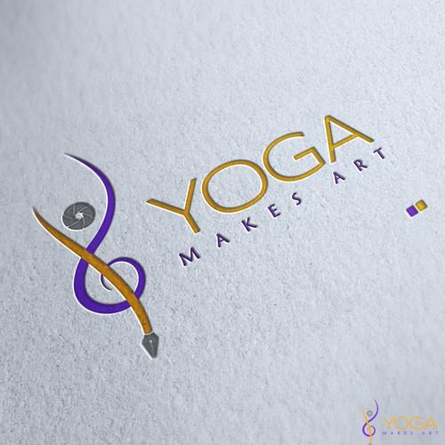 Yoga Makes Art