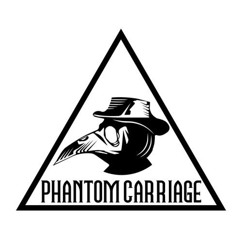 create a vintage plague doctor mascot for a logo