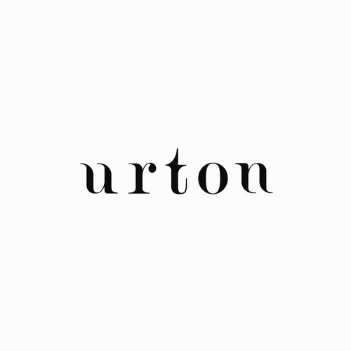 Custom typography logo