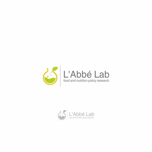 simple logo for lab logo