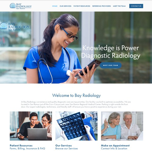 Web site Design for the Healthcare Industry
