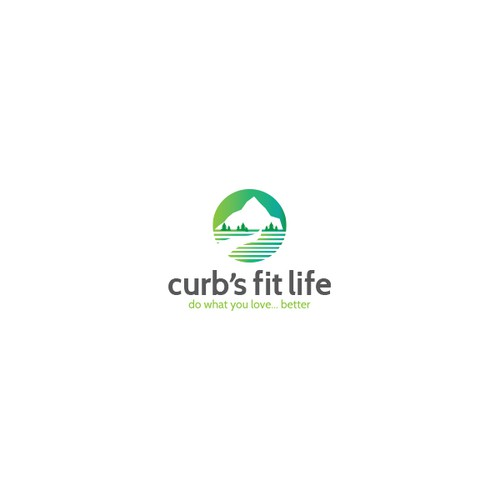 Curb's Fit Life Sample Logo