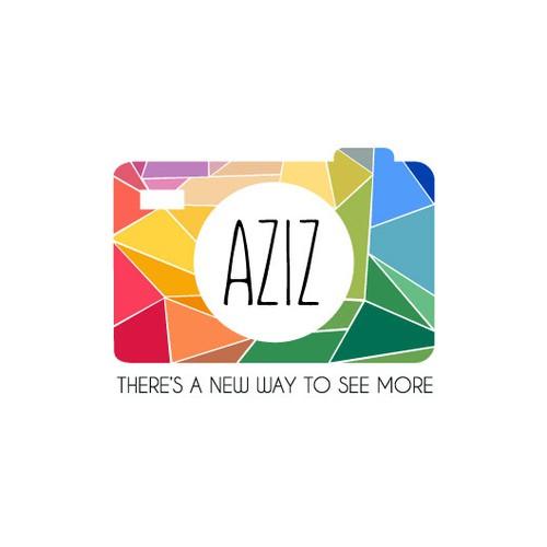 Colorful Logo for Aziz